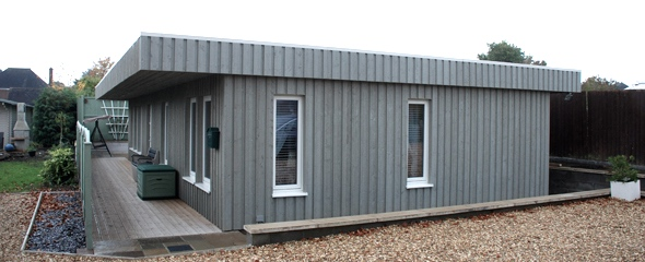 wooden panel house, timber panel house, UK